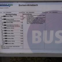 Busfahrplan
